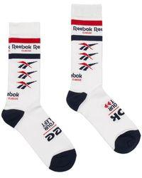 Reebok - Cl Vector Crew Socks - Lyst