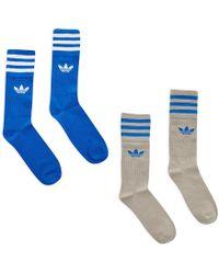 adidas Originals - Solid Crew Socks - Lyst