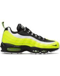 b009d6685996 Lyst - Nike 654440-401  Air Force 1 Hi Prm Porpoise Basketball Shoe ...