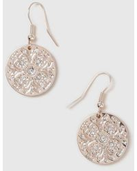 Wallis - Rose Gold Coin Jewellery Set - Lyst