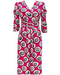 Wallis - **jolie Moi Berry Wrap Shift Dress - Lyst