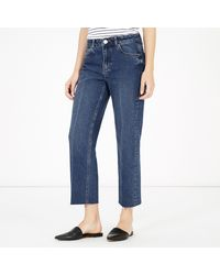Warehouse - Creased Front Jean - Lyst