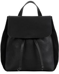 Warehouse - Leather Suede Mini Rucksack - Lyst