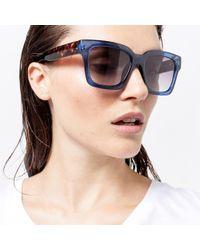 Warehouse - D Frame Sunglasses - Lyst