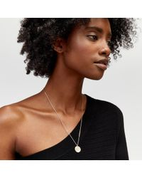 Warehouse - Pisces Horoscope Necklace - Lyst