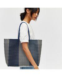 Warehouse - Plastic Weave Shopper - Lyst