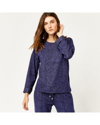 Warehouse - Cosy Pocket Top - Lyst