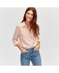 Warehouse - Dobby Shirt - Lyst