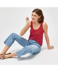 Warehouse - Straight Cut Jeans - Lyst
