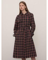 1159 STUDIOS - Mh7 1159 Classic Trench Ring Coat_check - Lyst