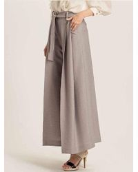 W Concept - Knotted Wide-leg - Lyst