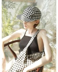 Awesome Needs - [unisex] Awesome Camp Cap Check Black - Lyst