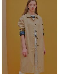 W Concept - Bleness Trench Coat - Lyst