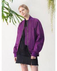 TARGETTO - Greece Blouson Purple - Lyst