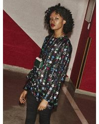 Fleamadonna - Star Ruffle Dress - Lyst