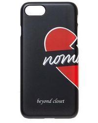 Beyond Closet - Basic Nomantic Half Iphone7 Case Black - Lyst