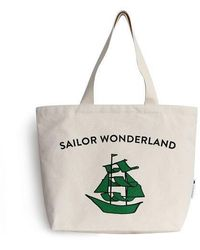 Biker Starlet | Sailor Canvas Bag Green | Lyst