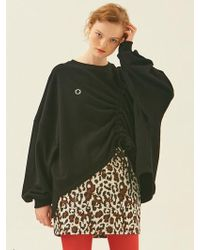ANOTHER A - String Tunnel Pullover Black - Lyst