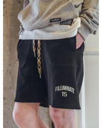 F.ILLUMINATE - Unisex Military Pants-black - Lyst
