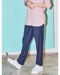 NOHANT - Brunch Trouser Navy - Lyst