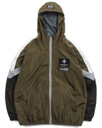 SAINTPAIN - [unisex] Sp Demonvol Windbreaker Jacket Khaki - Lyst