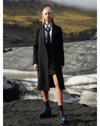 W Concept - Tailored Black Single Coat - Lyst