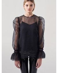 Blanc & Eclare - Electra Blouse Ss3534bl - Lyst