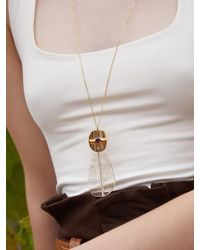 Matias - Summer Jelly Necklace - Gold - Lyst