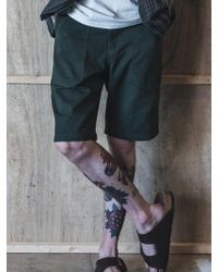 F.ILLUMINATE - Fatigue Shorts-khaki - Lyst