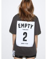 Studio Concrete - [unisex] Siries 1 To 10 T Shirt 2 Empty - Lyst