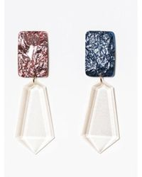 Blank - Jewel Drop Earring - Lyst