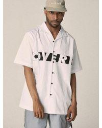 OVERR - 17su Moon White Shirts - Lyst