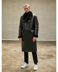 COLLABOTORY - Faux Shearling Coat - Lyst