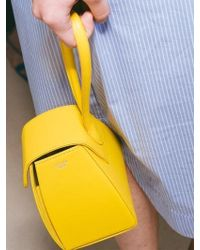 Atelier Park - Color Block Handle Bag Yellow - Lyst
