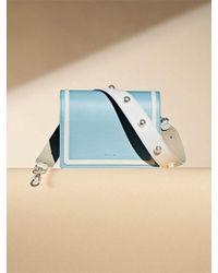 W Concept - Square Bag 22 Humming Line Set Sky Blue - Lyst