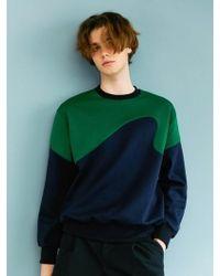 BONNIE&BLANCHE - Surf Sweatshirt Navy - Lyst