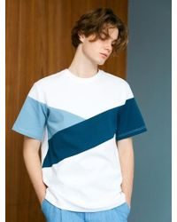 BONNIE&BLANCHE - Underwater Over Fit T-shirt White - Lyst