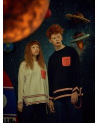 W Concept - [unisex] Rocket Tape T-shirt White - Lyst