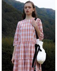 among - A Cotton Bucket Bag - Lyst