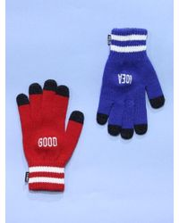W Concept - Good Idea Smart Gloves Qs Multi - Lyst