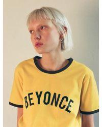 Fleamadonna - Beyonce T Shirt - Lyst