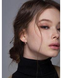 G. TATIANA - 14k Simple Irene Hoop Earrings - Lyst