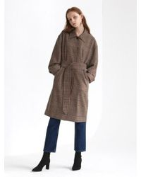 1159 STUDIOS - [xmunn]co Woolen Single Coat Check - Lyst