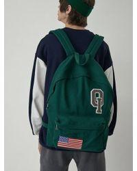 W Concept - Logo Vintage Backpack_green - Lyst