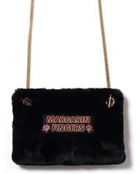 Margarin Fingers - Fur Cross Body Bag - Lyst