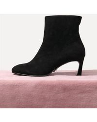 LAGRAZIA - 71855bk Classic Rose Ankle Boots - Lyst