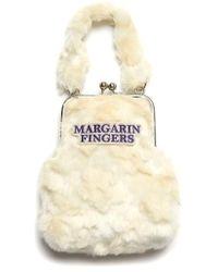 Margarin Fingers - Flower Eco Fake Fur Bag - Lyst