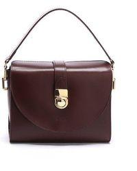 DESMAMAN - Pent Bag Burgundy - Lyst