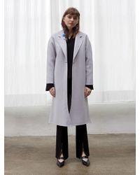 W Concept - Fog Handmade Coat - Lyst