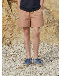 AECA WHITE Ryui Shorts_indian Pink